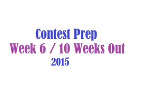Contest Prep Week 6 Update
