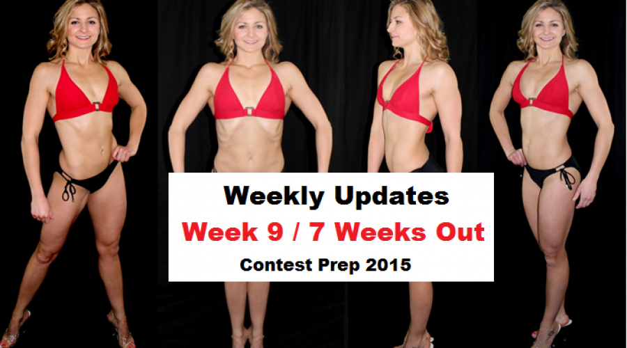 Weekly Update Week 9 / 7 Weeks Out