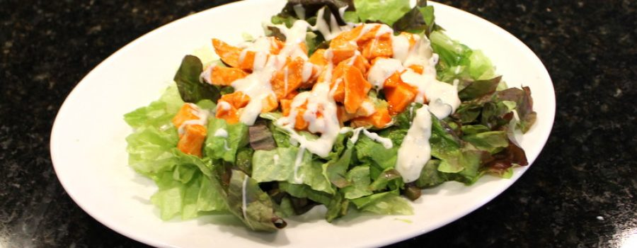 Easy Low Fat Buffalo Chicken Salad